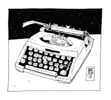 Typewriter by andrborg