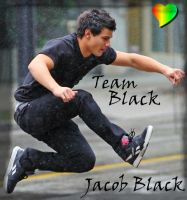 Team Black.. Jacob Black :D by LiannexSupernatural