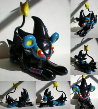 Commission: Luxray by Foureyedalien