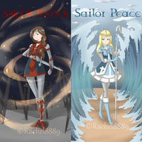 Sailor Justice And Sailor Peace by Rachel8889