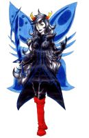 Vriska Serket: god tier- lucky pirate upgrade by despreocupabloart