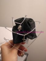 Goth hair ornament by Wilya12