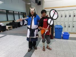 Madara and Anime Cosplayer by TheAzntirong