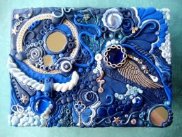 Celestial Temple Decorated Box by RoyalKitness