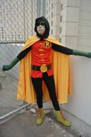 Damian Wayne: Time Out by kay-sama