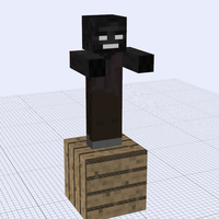 NotLB Mob: Wither Zombie by 76JacK
