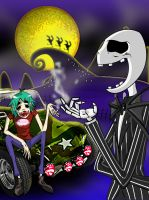 2D and his Skellington by Gamermonty5