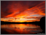 Burning Waters Reflected by Mogrianne