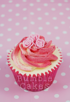 A very Bumble Valentines Roses Cupcake by MrsBumble