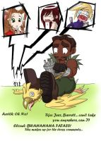 Chocobo Squee: Diet Time by Bhryn