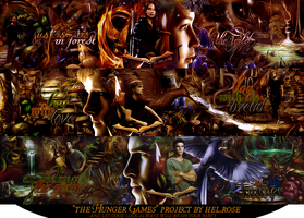 The Hunger Games project by helenrose98