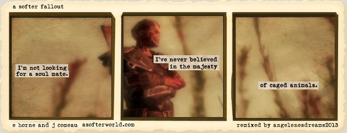 A Softer World: Fallout #13 by angelenesdreams