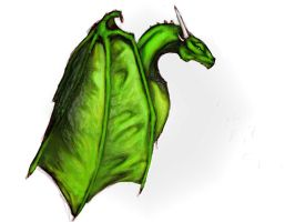 Green Dragon by Sithaen