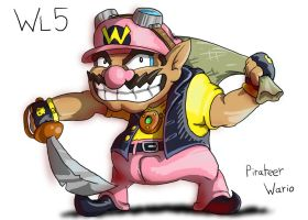 Pirateer Wario by DocWario
