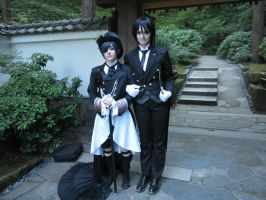The young lord and his faithful butler by Catchmewithyourlips