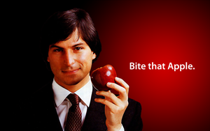 Bite That Apple : Steve Jobs by DhavalKatrodiya