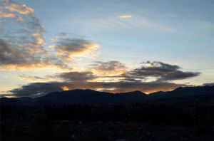 Sun set! CUENCA - ECUADOR by Nata-lee-m