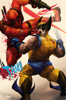 DP vs Wolvie by Lhax