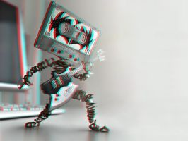 KISS Cassette 3-D conversion by MVRamsey