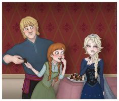 Frozen - Chocolate by Loony-Lucy