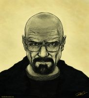 More Walter White by RobtheDoodler