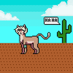 laughing cactus by CobaltTheCat