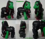 My little Pony Custom Gamora Guardians by BerryMouse
