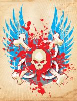 Skull and Bones by MelonLogic