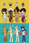 Ghostlings + Tindercat Batch!(closed) by Nearbits