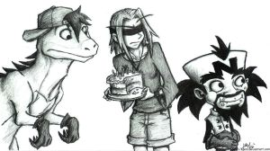 Cortex Takes the Cake by JenL