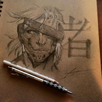 Raiden Sketch by MassoArt