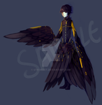 Harpy Prince Adoptable  (SOLD) by 4th-reset