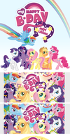 My little pony party!! by miri-chiwa
