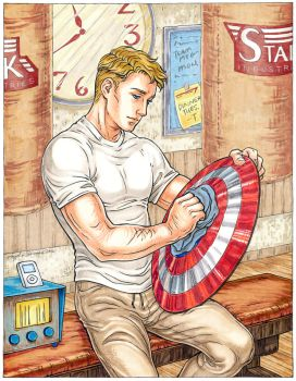Steve by Eldanis
