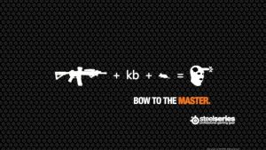 Steelseries: Bow To The Master : PC Gaming by IWSFOD-D