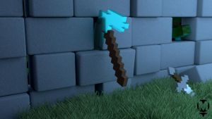 Minecraft - Pick In The Evening by cr608p