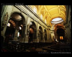 Palermo Cathedral by GabOrcinus