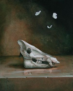 Dance of death in oil by r-lilie