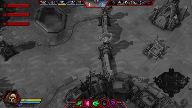 Oni Genji - Heroes Of The Storm Overlay by lol0verlay