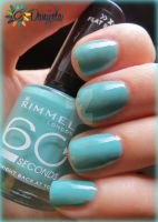 Rimmel 60 seconds #835 Bright back at you Swatch by Danijella