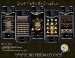 Skull Grin by Blue_Ray by Brthemes
