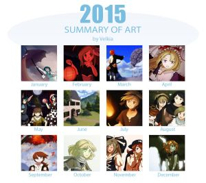 2015 Summary Of Art by Velkia