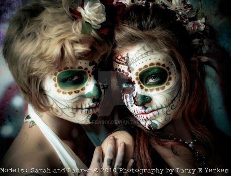 sarah and lauren 10 by wolfbainx
