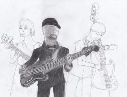 Bassists (WIP) by Paraggon