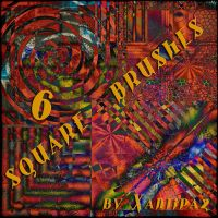 Square Brushes 6 by Xantipa2-Stock
