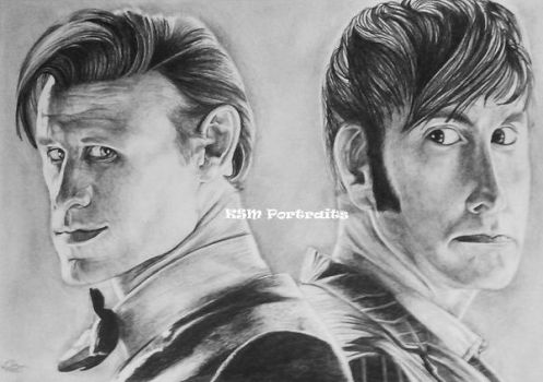 10 and 11 Doctors by Shinymane1