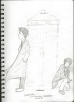 DoctorWho 50th Special. 10 and 11 by Ziiteara