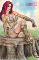 RED SONJA by JUN DE FELIPE by rodelsm21