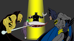 Fantaman VS Batman by FaGian
