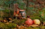 The Mabon greeting card by cezare-me